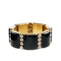 Golden stripe bracelet