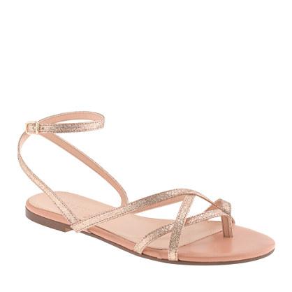 Pilar glitter sandals