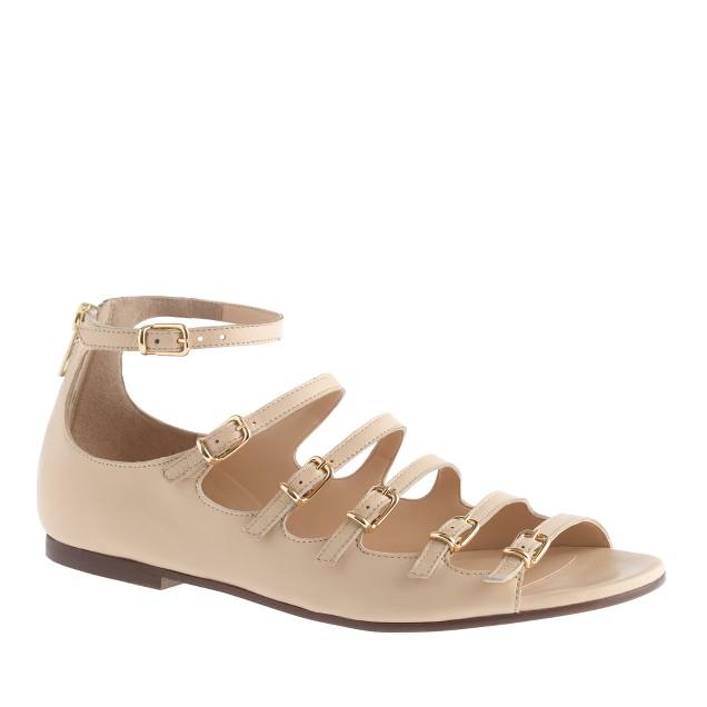 Sofia buckle sandals