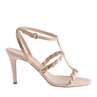Collection Glynnis glitter t-strap high-heel sandals