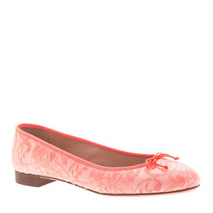 Kiki lace ballet flats