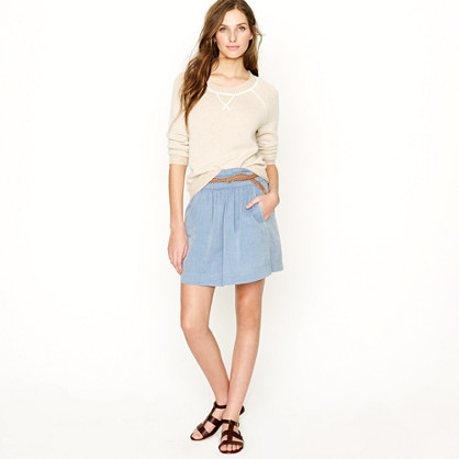 Chambray Clambake skirt