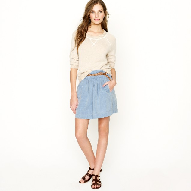 Chambray Clambake skirt