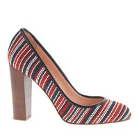 Etta bead-stitch pumps
