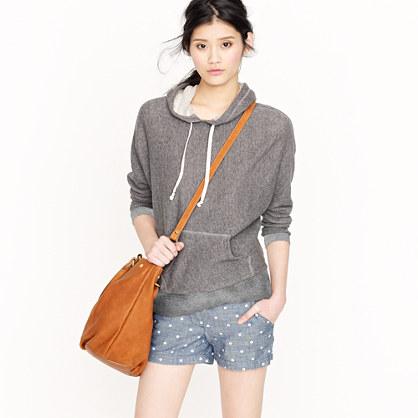 Summerlight terry dolman-sleeve hoodie