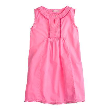 Girls' pom-pom dress