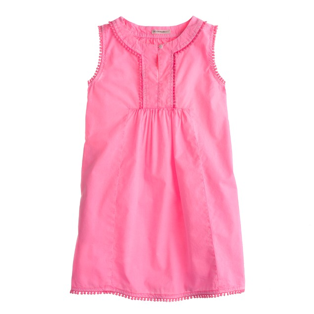 Girls' pom-pom dress