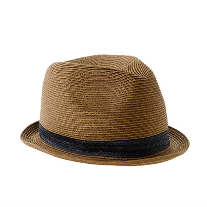 Boys solid band trilby hat necessities j crew