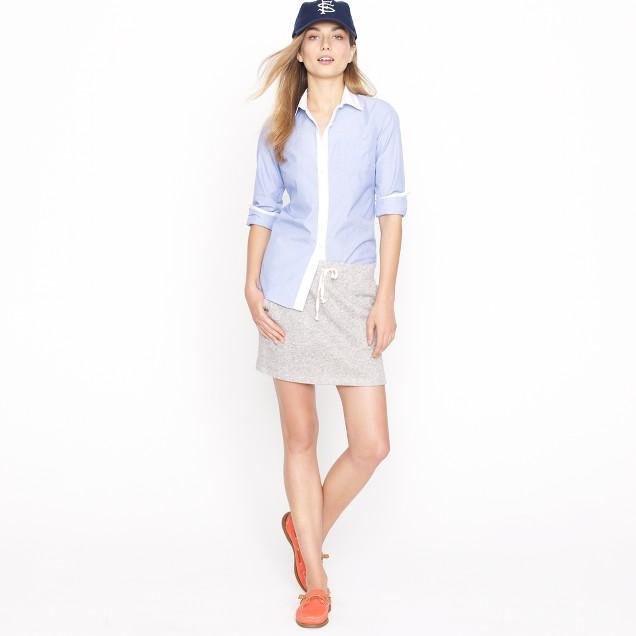 Summerlight terry miniskirt