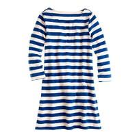 Knit tunic dress in stripe