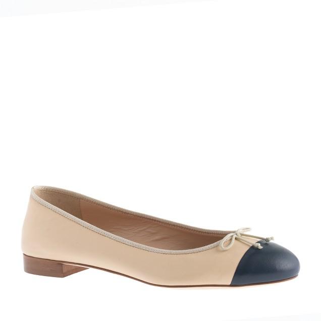 Kiki cap toe ballet flats