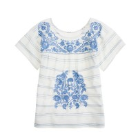Soledad embroidered tunic