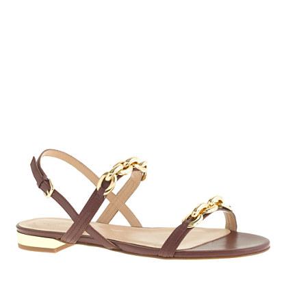 Chainlink sandals