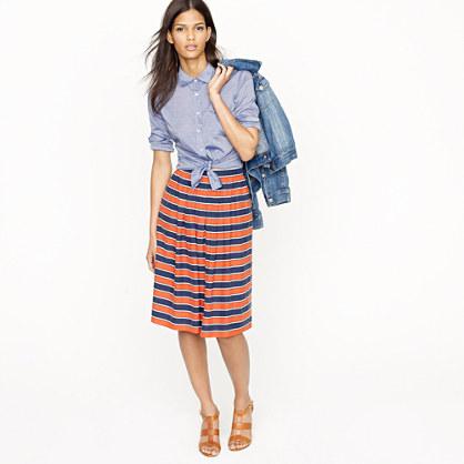 Gondola stripe skirt