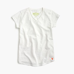 Girls' supersoft V-neck T-shirt
