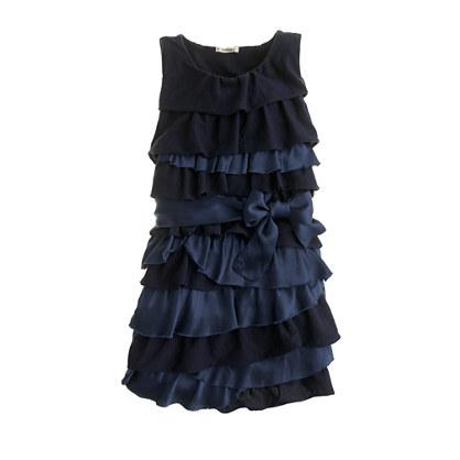Girls' Rosalie twisted dress