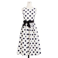Big-shot dot dress