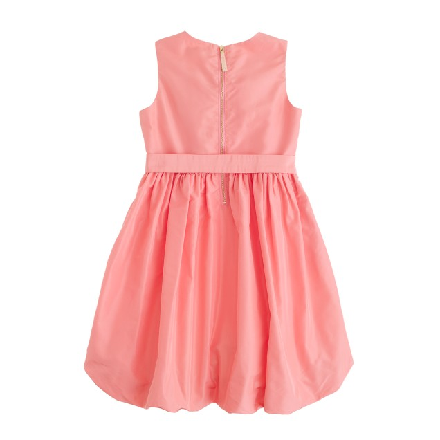 Girls' silk taffeta Gillian dress