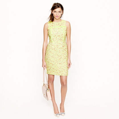 Collection neon tweed dress