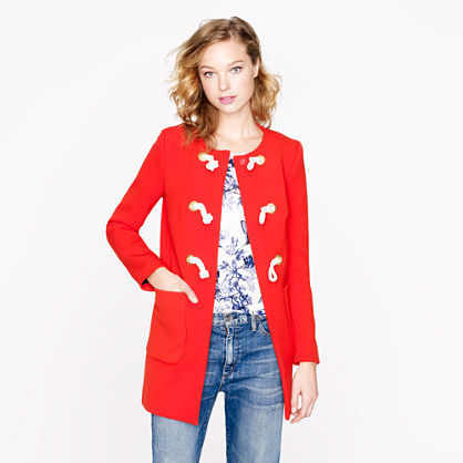 Collection modern toggle coat