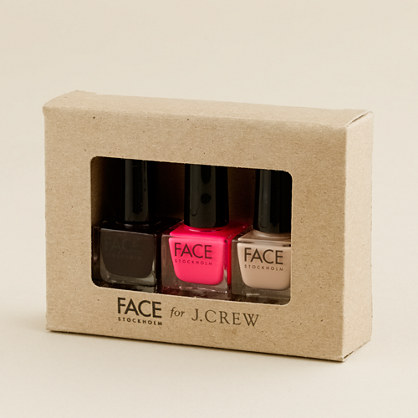 FACE Stockholm® three-pack nail polish