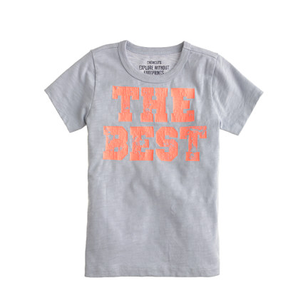 Boys' the best tee