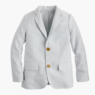 Boys' Ludlow suit jacket in oxford cloth