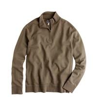 Lightweight vintage fleece half-zip pullover