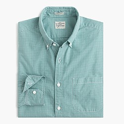 Secret Wash shirt in Mason gingham
