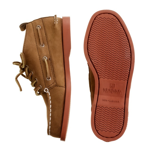 Boys' Sperry Top-Sider® Authentic Original nubuck chukka with contrast sole