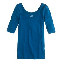 Perfect-fit ballet button T-shirt