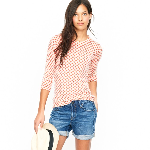 Tippi sweater in orchard print