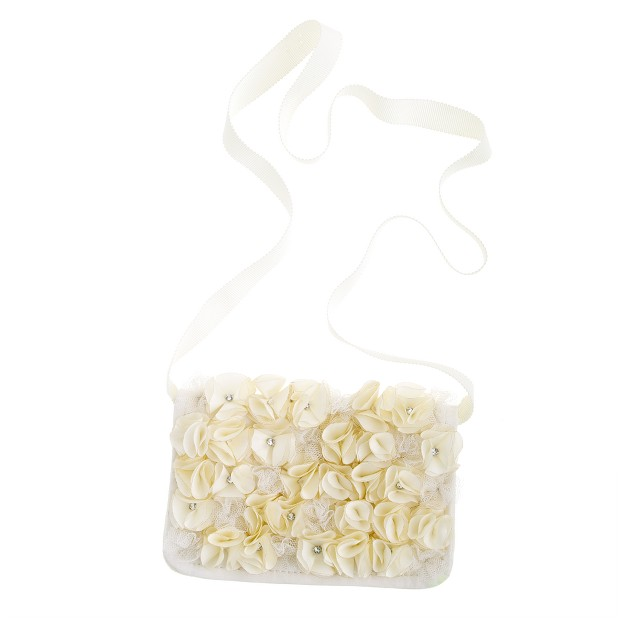 Girls' crystal blooms day purse