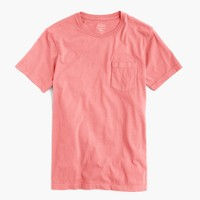 Tall broken-in pocket T-shirt