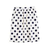 Big-shot dot circle skirt