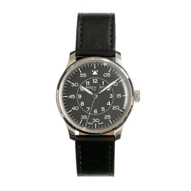 Mougin & Piquard™ for J.Crew Grande Seconde watch in black