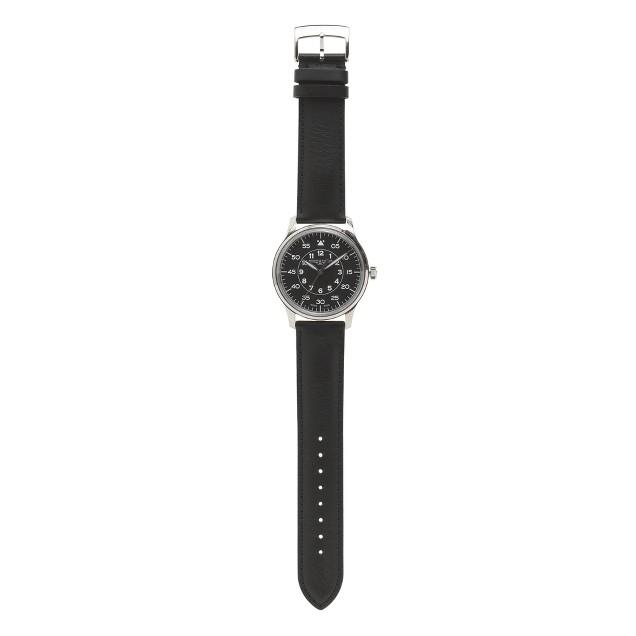 Mougin & Piquard™ for J.Crew Grande Seconde watch in black