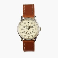 Mougin & Piquard™ for J.Crew Grande Seconde watch in cream