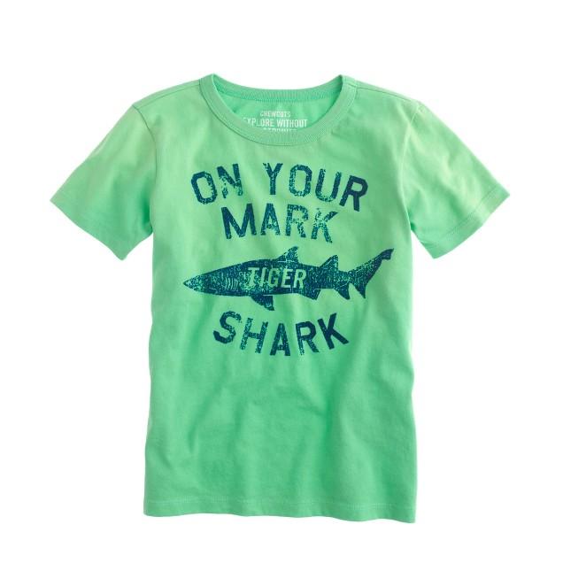Boys' tiger shark tee