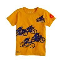 Boys' motorcycle tee