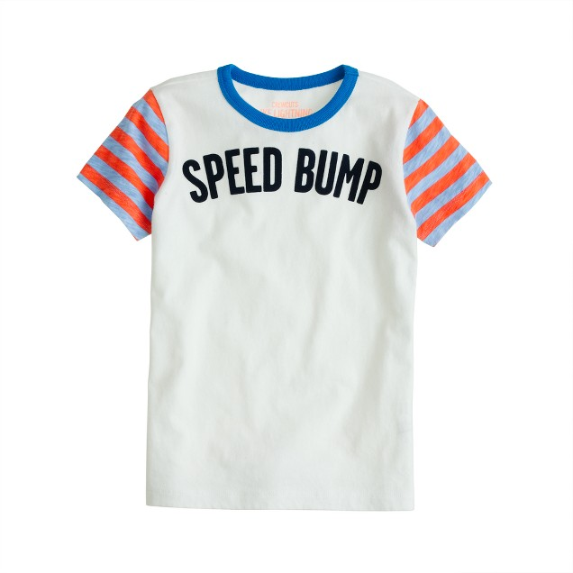 Boys' speed bump tee