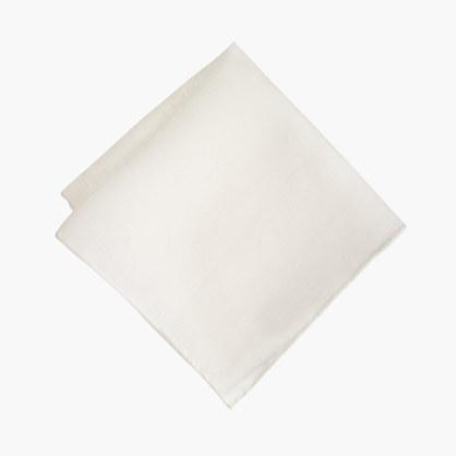 English linen pocket square