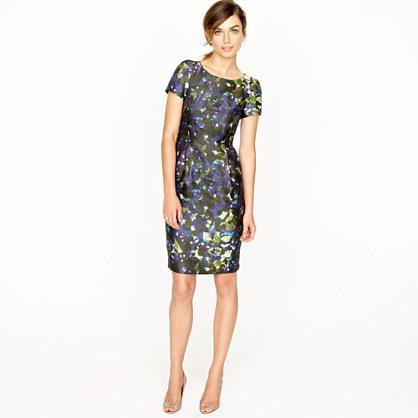 Lillian dress in gardenshade floral