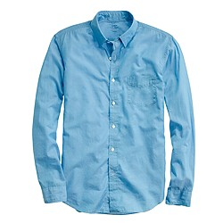 Tall lightweight chambray shirt