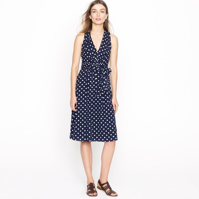 Elinor dress in polka dot