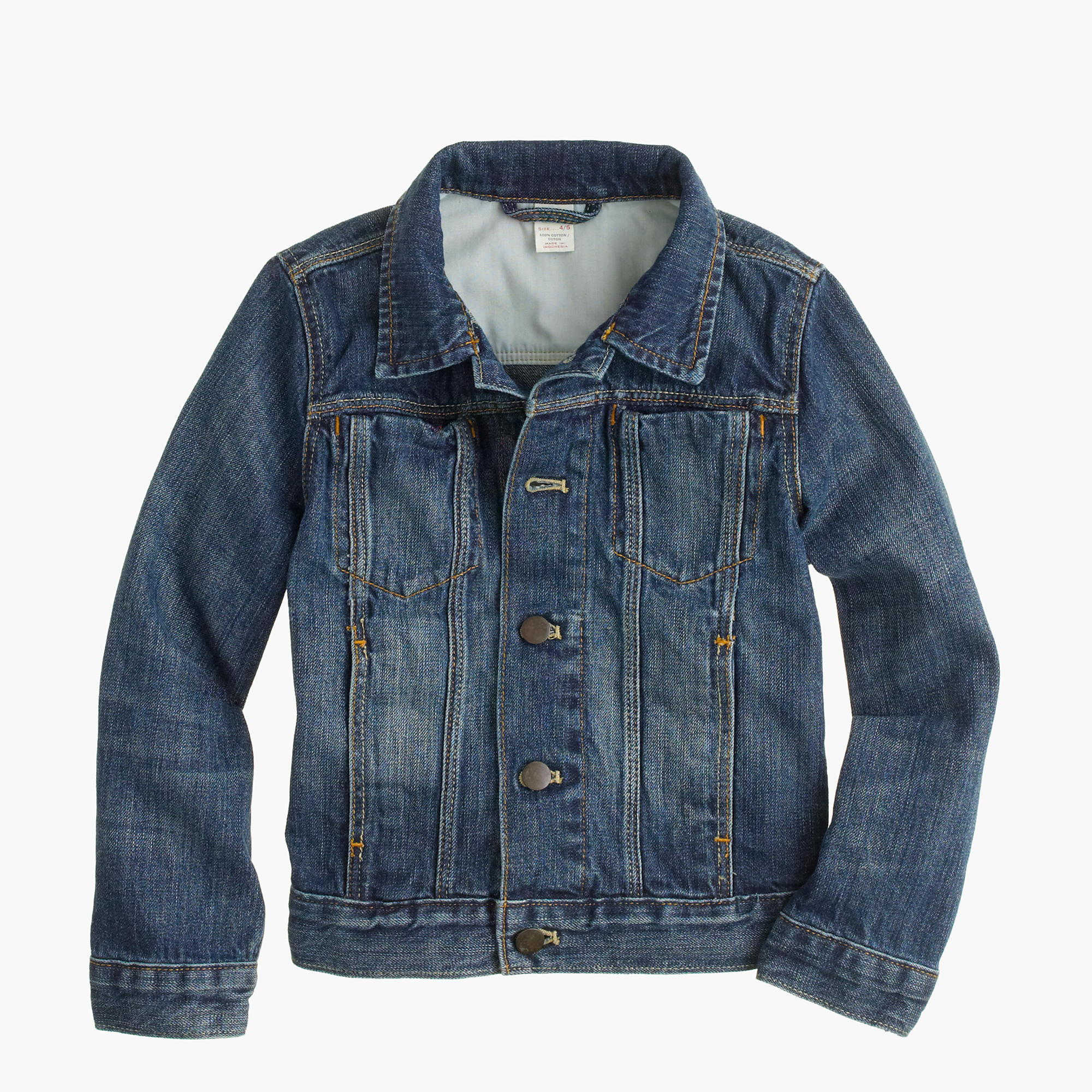 Boys' denim jacket : Boy lightweight & denim | J.Crew