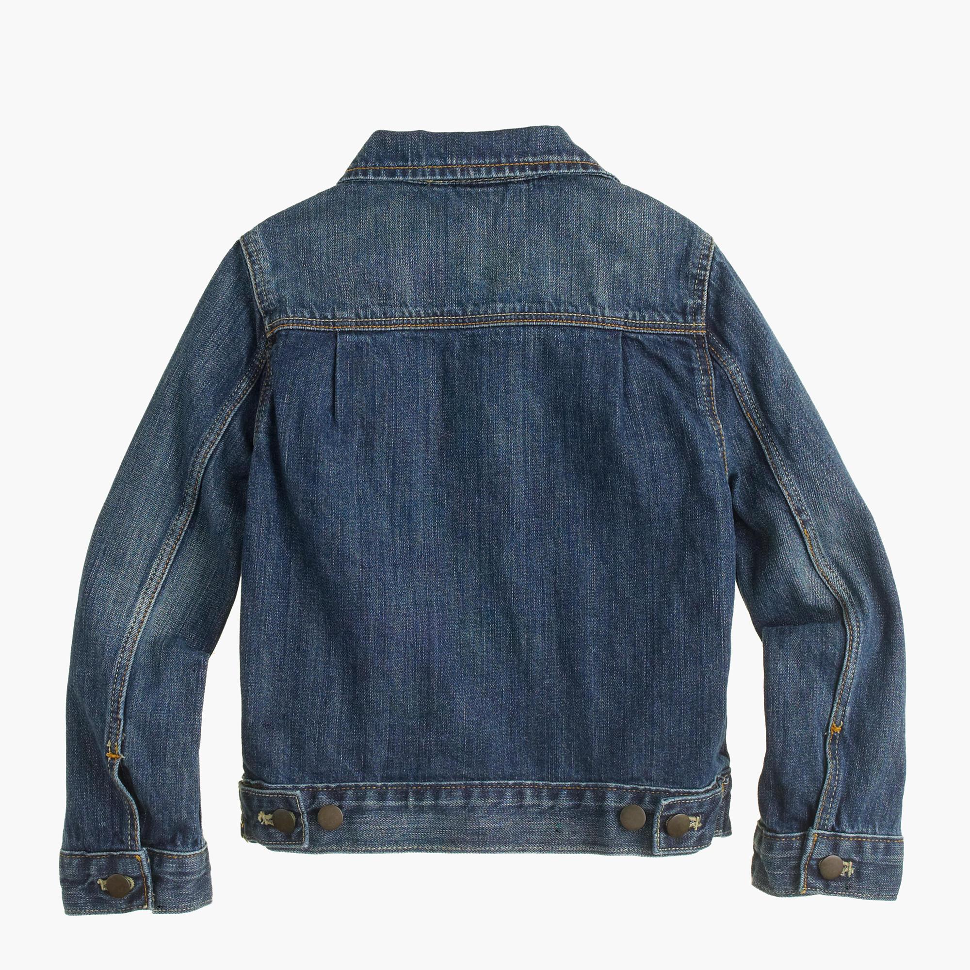 Boys' denim jacket : Boy lightweight & denim | J.Crew