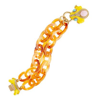 Frog-clasp bracelet