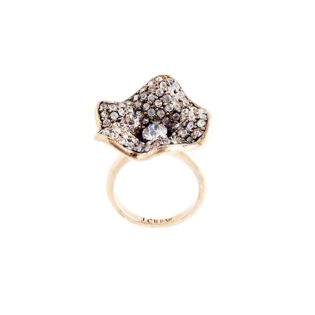 Flower bud ring