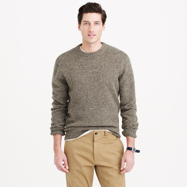 Wallace & Barnes Shetland wool Sutherland sweater